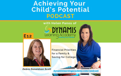 Financial Priorities for a Family & Saving for College
