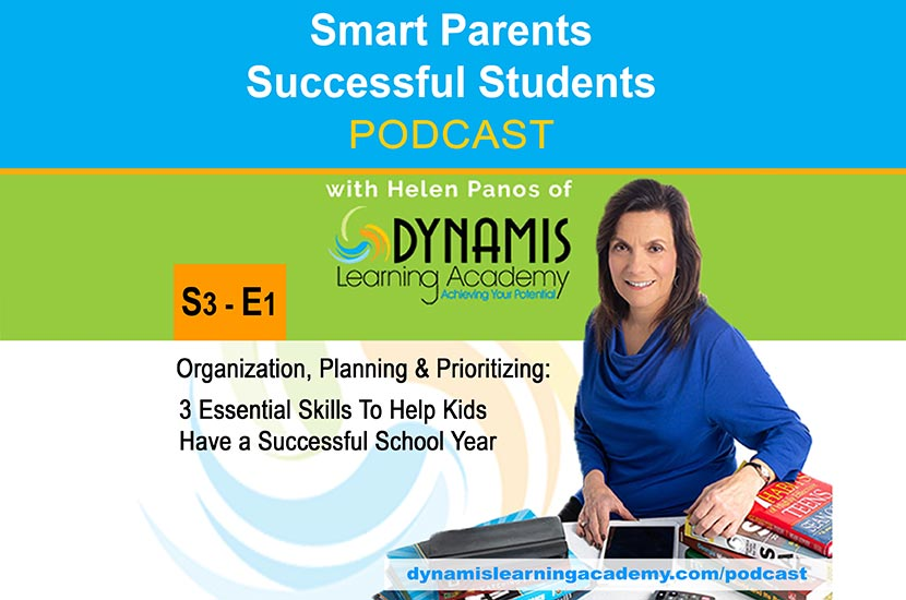 Helping Kids with Organization, Planning, and Prioritizing