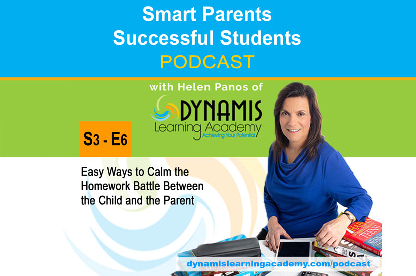 Easy Ways to Calm the Homework Battle Between the Child and the Parent